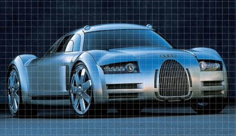 audi rosemeyer intractive desktop wallpaper